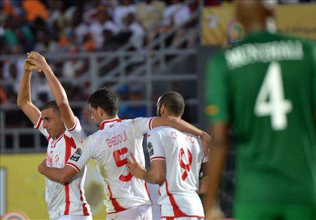 Laporan Pertandingan: Zambia 1-2 Tunisia