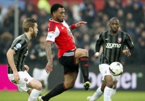 Ajax - Feyenoord | Colin Kazim-Richards was in zijn laatste acht wedstrijden (alle competities) elke keer betrokken bij een doelpunt (4 goals, 4 assists).