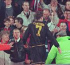 The night Cantona's crown slipped