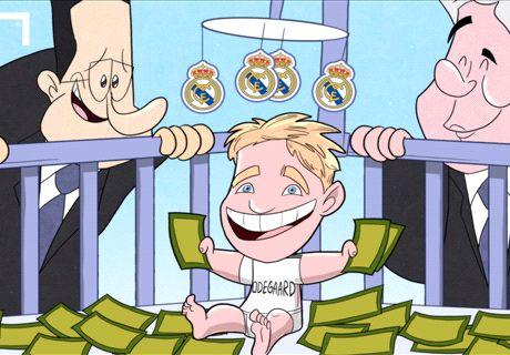 VIÑETA: El Real Madrid mima a Odegaard