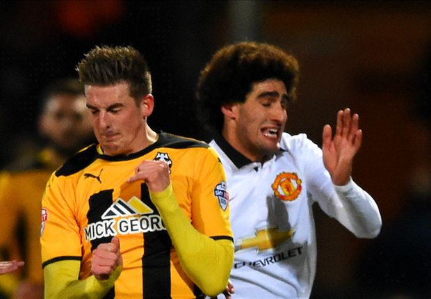 Cambridge United 0-0 Manchester United