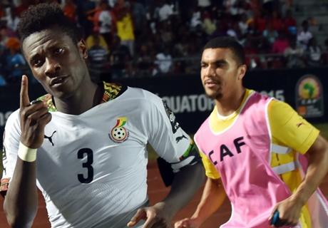 Gyan y Ghana se recuperaron