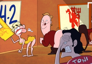 Tactics not working so Van Gaal is twerking