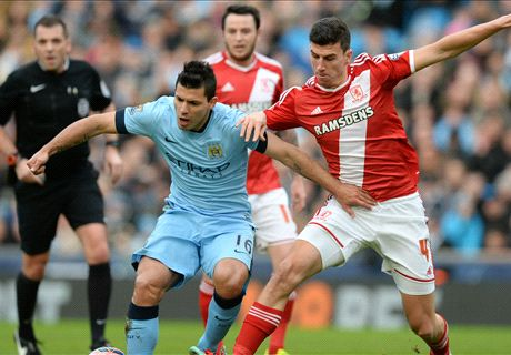 FT: Manchester City 0-2 M'Boro
