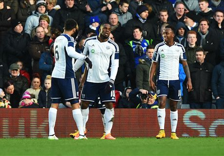 Birmingham 1-2 WBA: Baggie through