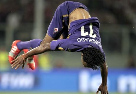 Cuadrado seguirá en la Fiorentina