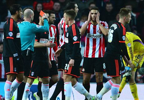 Sunderland 0-0 Fulham: Rodwell red