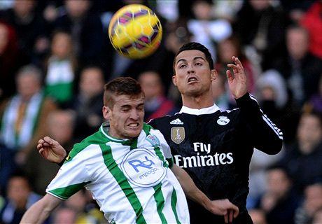 Cordoba 1-2 Real Madrid: Bale winner
