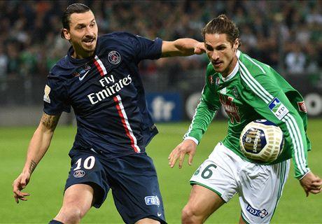 LIVE: Saint-Etienne 0-0 PSG