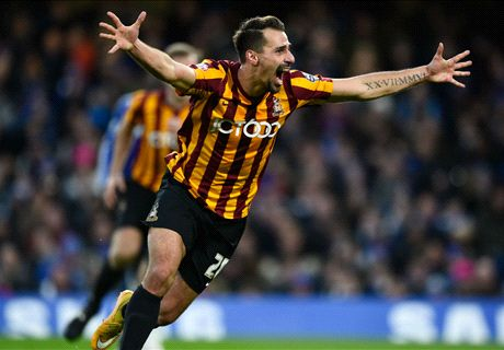Bradford stun Chelsea in epic upset