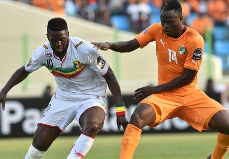 Cote d'Ivoire 1-1 Mali: Gradel late