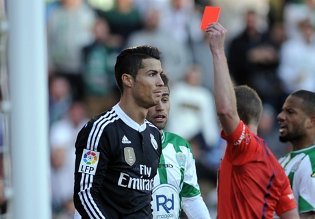 Ronaldo handed two-game ban
