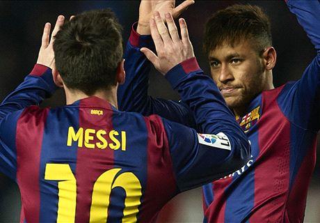 Messi & Neymar destroy Elche