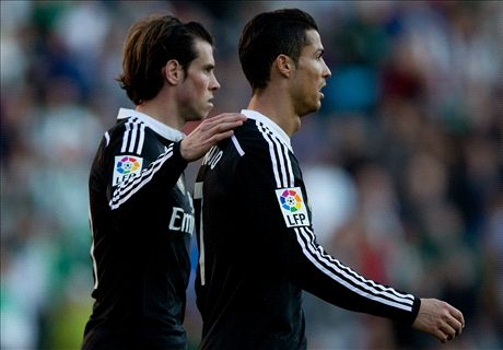 Bale: Ronaldo is Madrid's main man