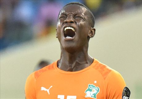 Gradel strike puts Cote d'Ivoire through