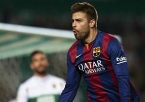 GERARD PIQUE | El central del Barcelona está recuperando su mejor forma y en esta jornada abrió la lata frente al Elche.