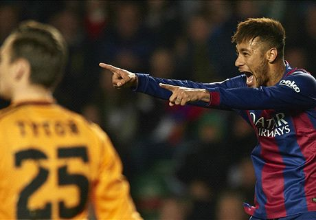 Neymar: Difficult to see Barca losing