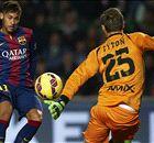 İşte Elche - Barcelona maçının yıldızı!