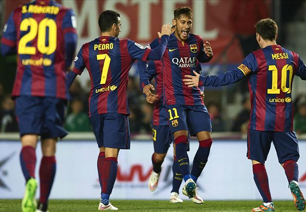 Barcelona's attack is the best in the world, says Josep Maria Bartomeu