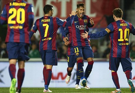 'Barca attack is the best in the world'