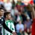 Il cartellino rosso sventolato in faccia a Cristiano Ronaldo