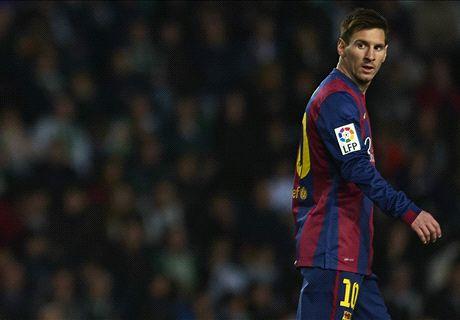 La pelea de Messi y el DT