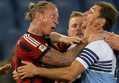 A father shouldn't act like that - Mexes