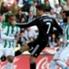 Ronaldo, en el momento de la agresión de este sábado
