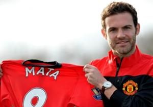 January 25: Mata completes his then-club record £37.1 million transfer from Chelsea to Manchester United and is handed the No.8 shirt for David Moyes's side