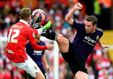 LIVE: Bristol City 0-0 West Ham