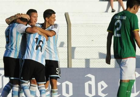 Argentina debuta en el hexagonal