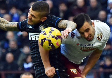 Inter shocked at home by Torino