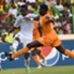 Guinea forward Mohamed Yattara opens scoring during a 1-1 draw with Ivory Coast