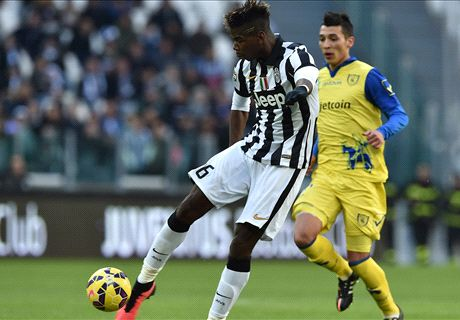 Pogba screamer sets up Juve victory
