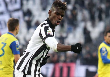 Pogba screamer sets up Juve win
