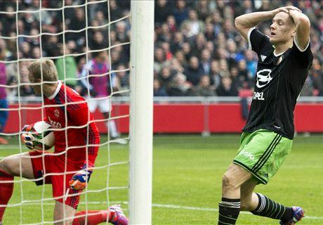 VÍDEO | Delantero impide gol de su equipo