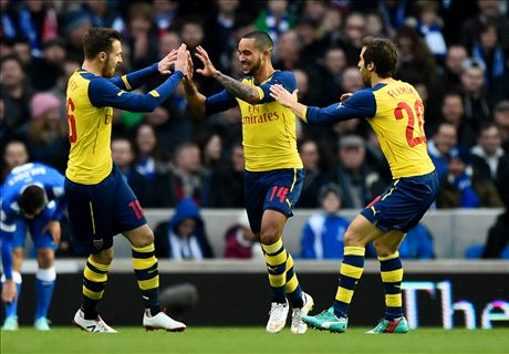 Walcott delighted to end a painful year