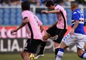 #20 - Palerme - 10 buts sur coup-franc direct marqués depuis 2010/2011