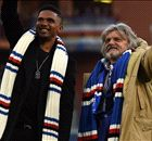 Eto'o unveiled at Sampdoria