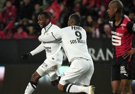 Résumé de match, Rennes-Caen (1-4)
