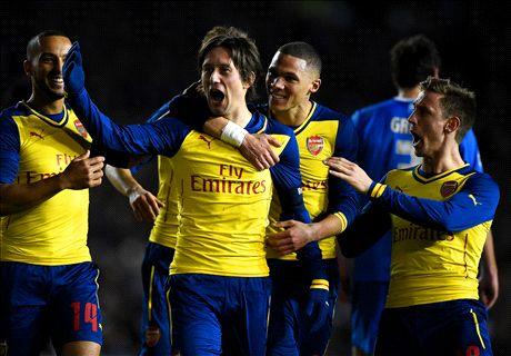 Özil trifft bei Arsenal-Sieg