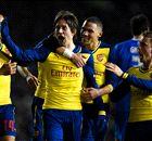 Arsenal met hakken over de sloot