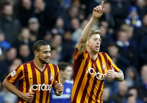 JON STEAD | Attacker | Chelsea 2-4 Bradford | The outstanding player on the Stamford Bridge pitch, as he scored his side's first and had a hand in all of his side's three goals thereafter as he tormented the Blues defence.