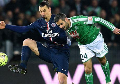 Résumé de match, Saint-Etienne-Paris SG (0-1)
