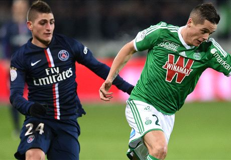 Saint-Etienne-Paris SG, les notes
