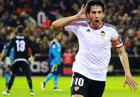 Résumé de match, Valence-Séville (3-1)