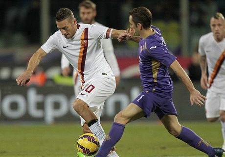 Résumé de match, Fiorentina-Roma (1-1)