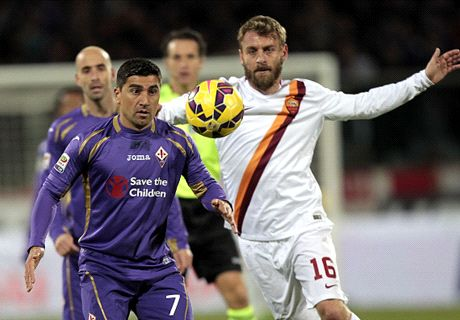Fiorentina Imbangi AS Roma