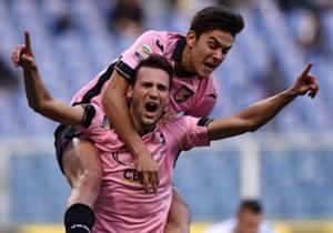 Dybala y Vázquez conformaron una dupla letal en Palermo.