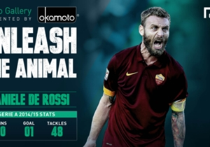 "DANIELE DE ROSSI - Fiercely loyal, determined and has an eye for a killer pass; ""Il Futuro Capitano"" has deservedly earned his legendary status. Think you've got an animalistic side too? Send in your photo <a href='https://a.pgtb.me/zHkRJd/'>here</a> a..."